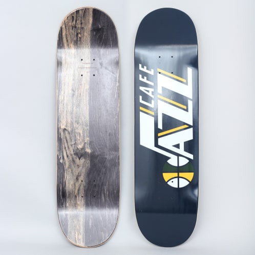 Skateboard Cafe 8.5 Jazz Skateboard Deck Navy