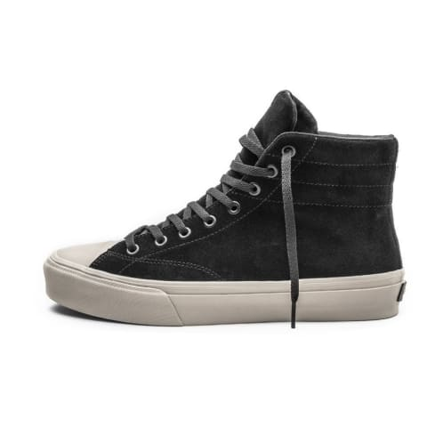 Straye Venice Shoes - Black Bone Suede