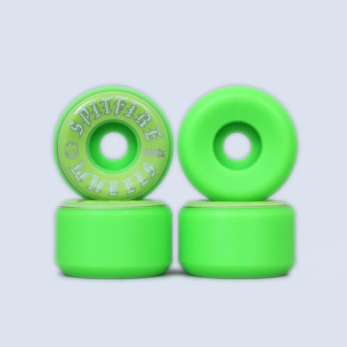 Spitfire 54mm Old English Wheels Green