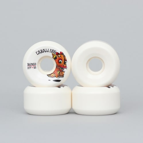 Bones 56mm Caballero Baby Dragon SPF Wheels White