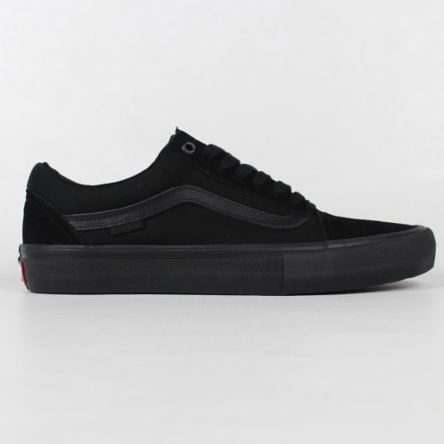 4a599cd898e656 Vans Old Skool Pro Shoes Blackout