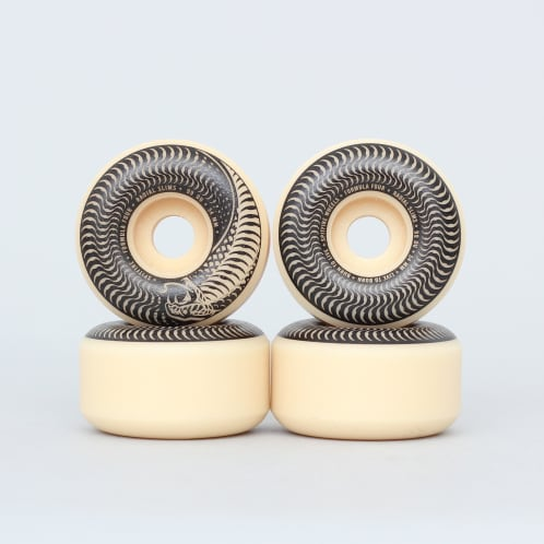 Spitfire 54mm 99DU Formula Four Venomous Radial Slim Glow Wheels Natural