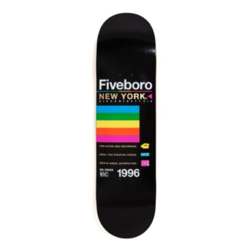"5Boro Skateboards - 8.25"" Neil Herrick VHS Deck"