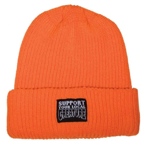 Creature Long Shoreman Beanie - Safety Orange