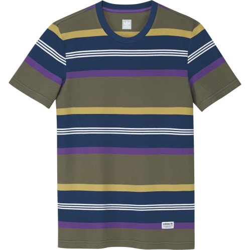 Adidas Grover Shirt - Raw Khaki Legend Marine Active Purple Pyrite