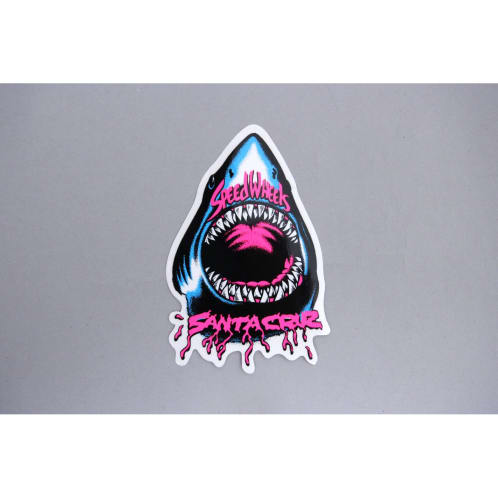Santa Cruz Speed Wheels Shark Sticker