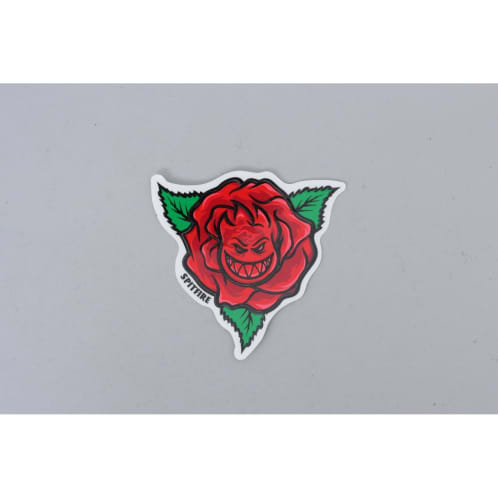 Spitfire Big Rose Sticker Red