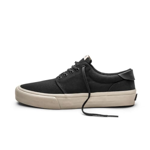 Straye Fairfax Shoes - Black/Bone Canvas