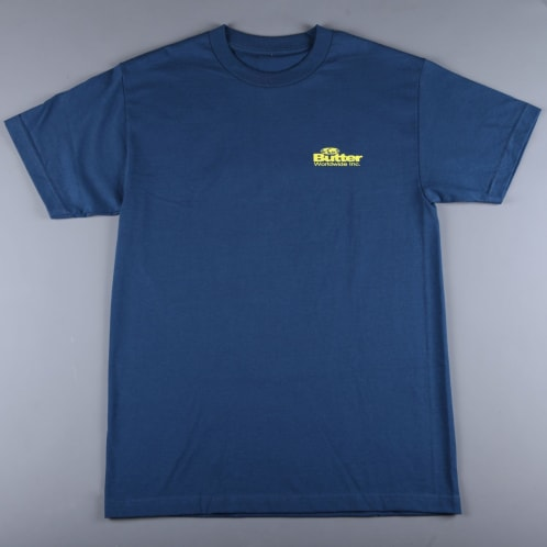Butter 'Incorporated' T-Shirt (Harbour Blue)