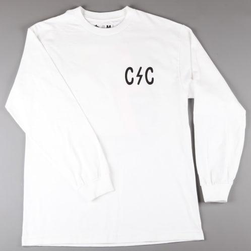 CSC 'Bolts' Longsleeve T-Shirt (White)