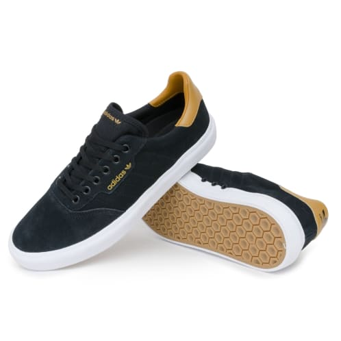 Adidas 3MC Vulc Shoes - Black/Mesa/White