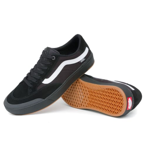 ad09fb1e9a9397 Vans Berle Pro Shoes - Black Black White