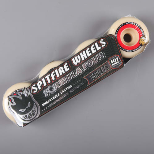 Spitfire 'Formula Four' Tablet 52mm 101D Wheels