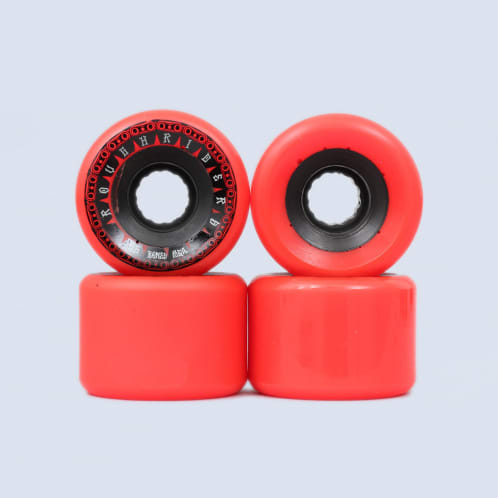 Bones 56mm Rough Riders Tank ATF Wheels Red