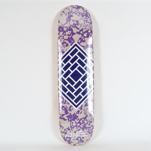 """The National Skateboard Co. - 7.75"""" (High Concave) Classic Deck - Purple"""