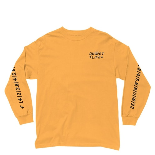The Quiet Life - Camera Club Eye L/S Tee - Gold