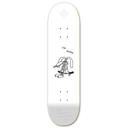 """The National I'm Down Deck White - 8"""""""