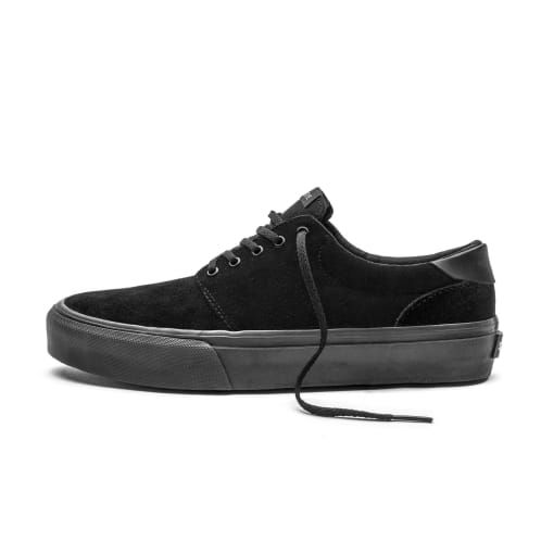 Straye Fairfax Shoes - Black Suede