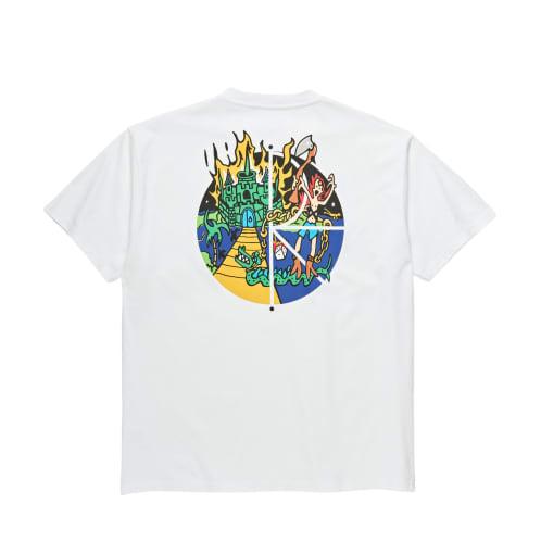 Polar Castle Fill Logo Tee White