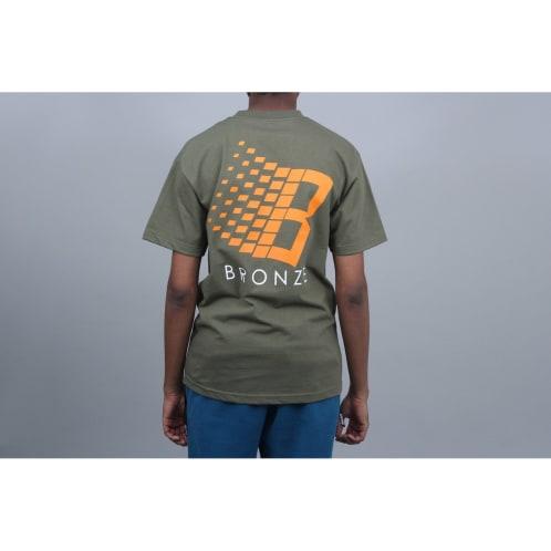 Bronze Classic Logo T-Shirt Forest Green