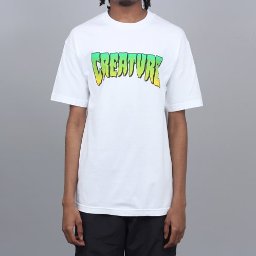 Creature Logo T-Shirt White