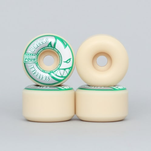 Spitfire 58mm 99DU Formula Four Kadar Radials Wheels Natural