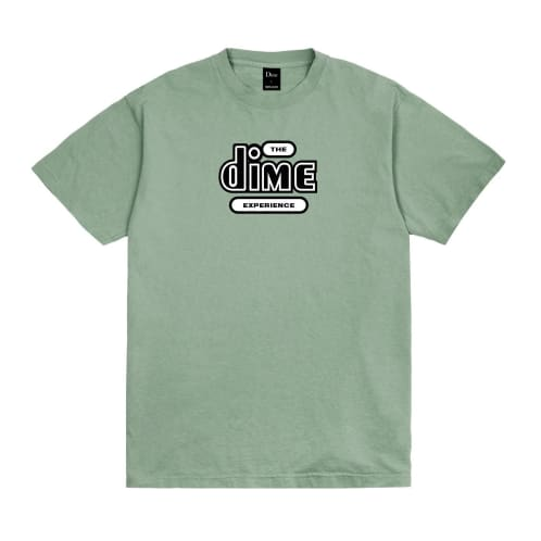 Dime The Dime Experience T-Shirt Washed Green