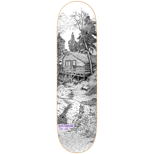 Heroin Skateboards Cabin Series 2 Tony Karr Skateboard Deck - 8.38