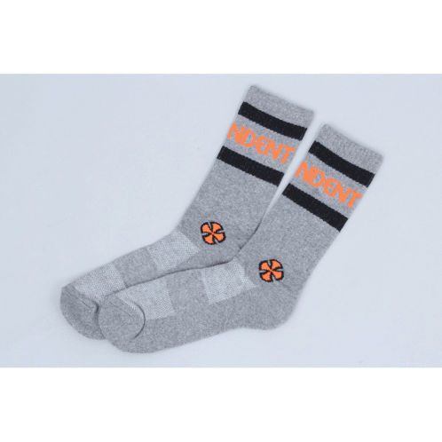 Independent Stage Socks Charcoal Heather