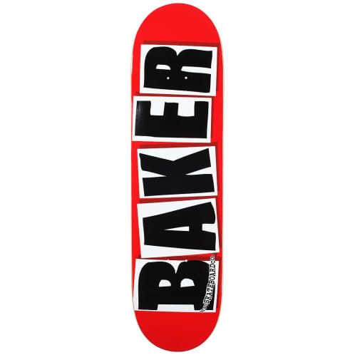 Baker Skateboards Brand Logo Skateboard Deck - Black