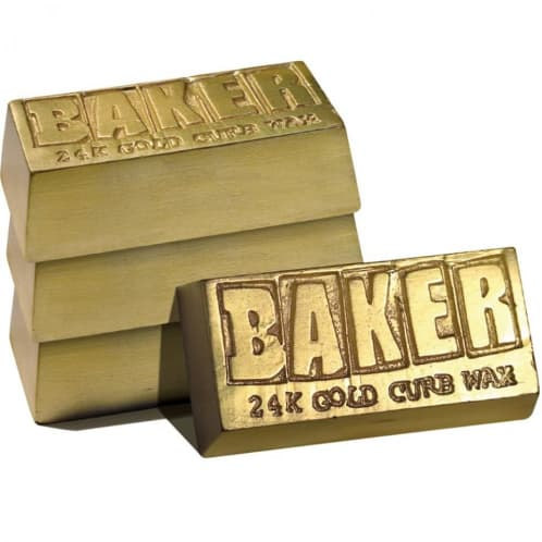 Baker Skateboards 24 Carat Gold Bar Wax
