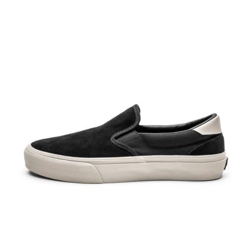 Straye Ventura Shoes - Black Bone Suede
