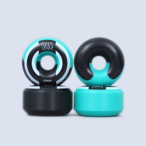 Welcome 56mm 99A Orbs Apparitions Wheels Teal / Black