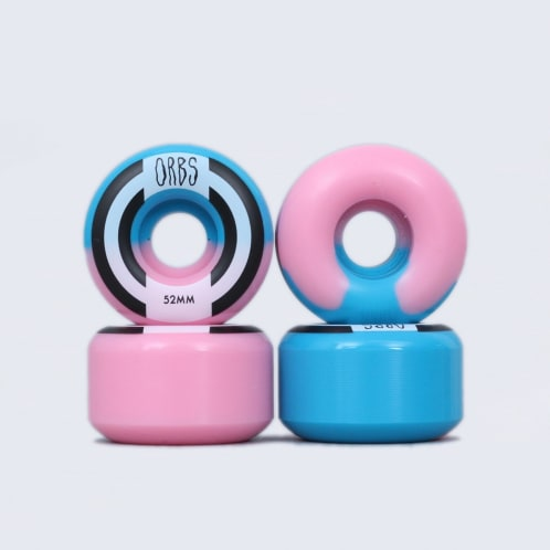 Welcome 52mm 99A Orbs Apparitions Wheels Pink / Blue
