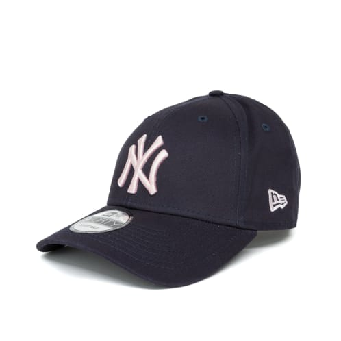 New Era League Essential New York Yankees 9FORTY Cap - Navy/Pink