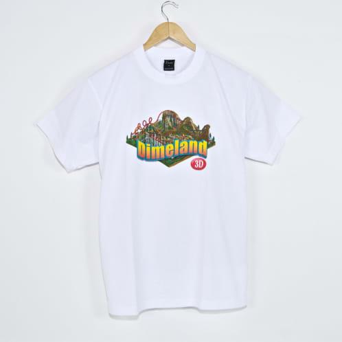 Dime MTL - Dimeland 3D T-Shirt - White