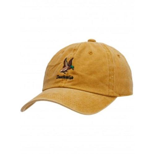 Deathwish Mallard Strapback Hat - Gold