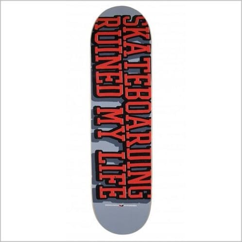 Consolidated - Consolidated Skateboards 'Ruined My Life' 8.25″ Deck