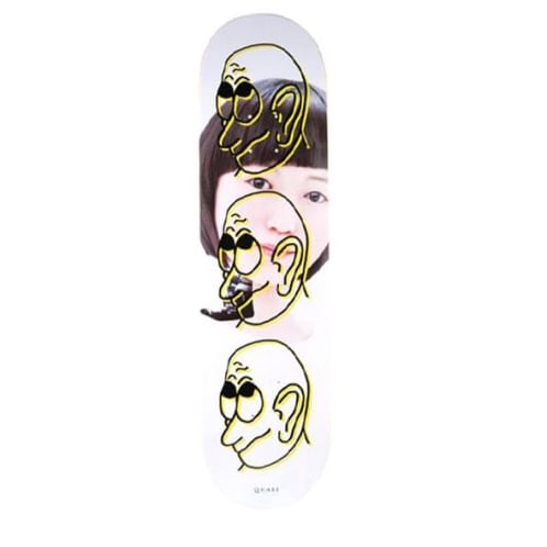 "Quasi ""Girl"" Skateboard Deck 8.25"""
