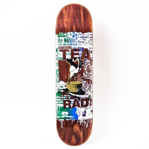 Lovenskate Drink Tea Get Rad: Nepal Chai Edition Deck - 8