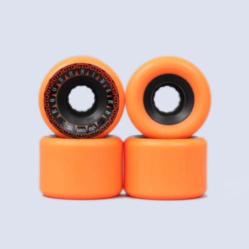 Bones 56mm Rough Riders Tank ATF Wheels Orange