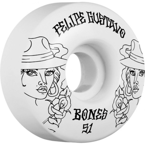 Bones Skateboard Wheels STF Gustavo Chica V1 Street Tech Formula 51mm