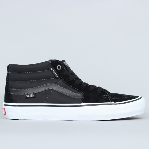 Vans SK8 Mid Pro Shoes (Anti Hero) Grosso / Black