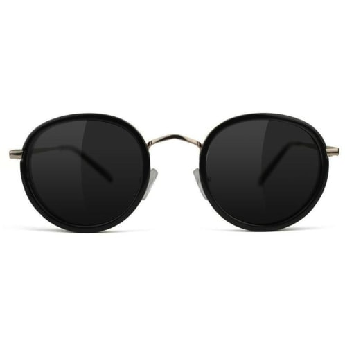 Glassy Lincoln Polarized Sunglasses | Black