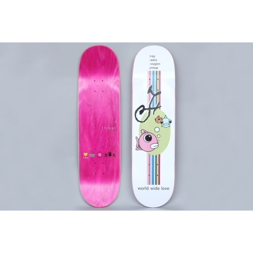 Frog 8.5 World Wide Love Skateboard Deck