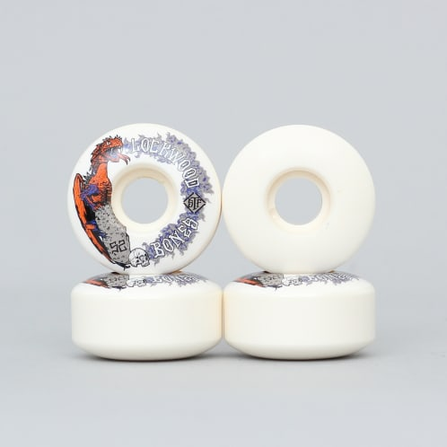 Bones 52mm Lockwood Dragon V3 Slim STF Wheels White