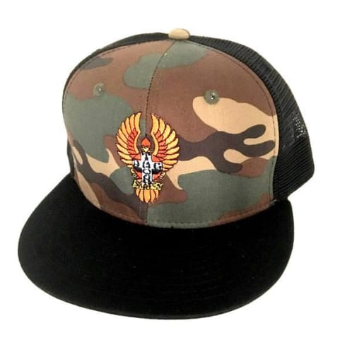 Dogtown Hat Mesh Embroidered Bigfoot - Camo