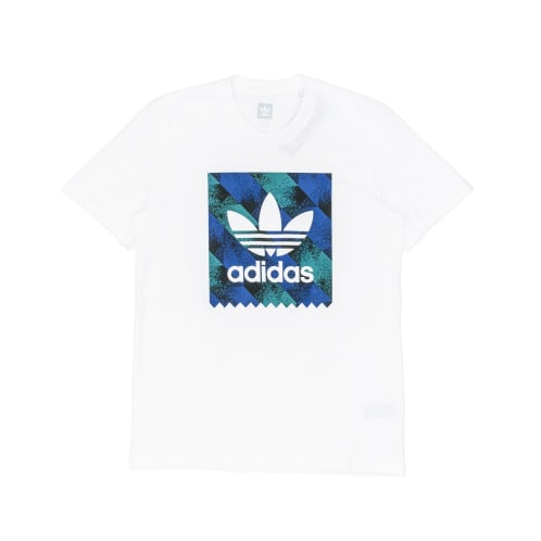 Adidas Towning BB T-Shirt - White/Black/Blue/Green