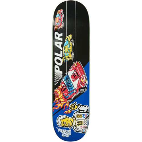 Polar Aaron Herrington Reptillian Racer Deck 8.25""