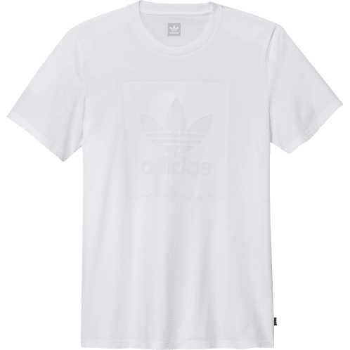 Adidas Solid BB Solid Logo - White/White